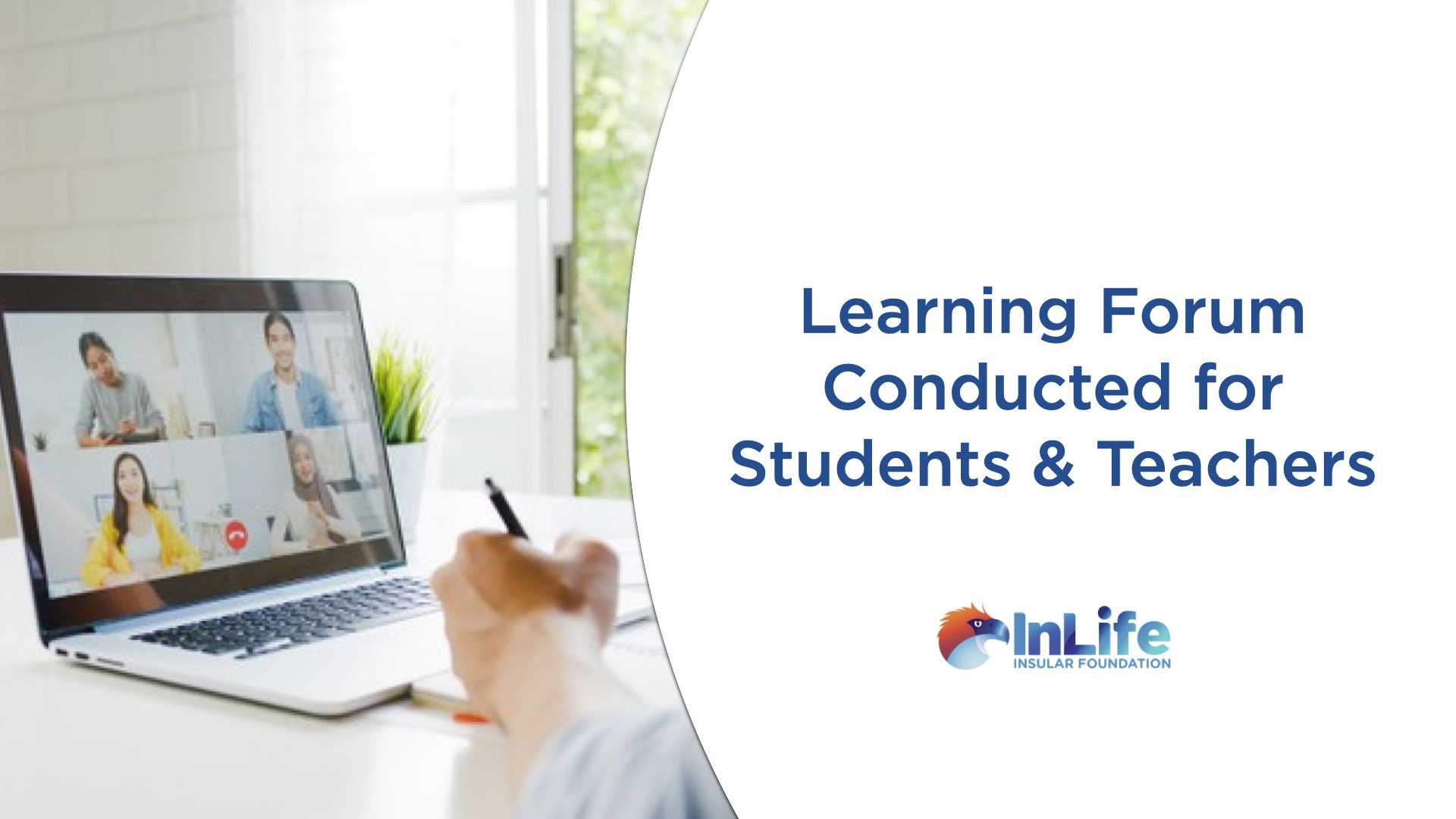 Insular Foundation Conducts Online Learning Forum For Students, Teachers