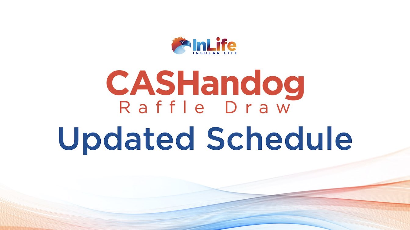New CASHandog Raffle Draw Schedule for 2020