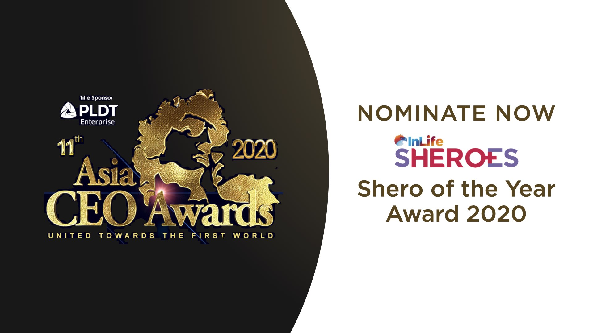 InLife calls for nominations to the Asia CEO InLife Shero of the Year Award 2020