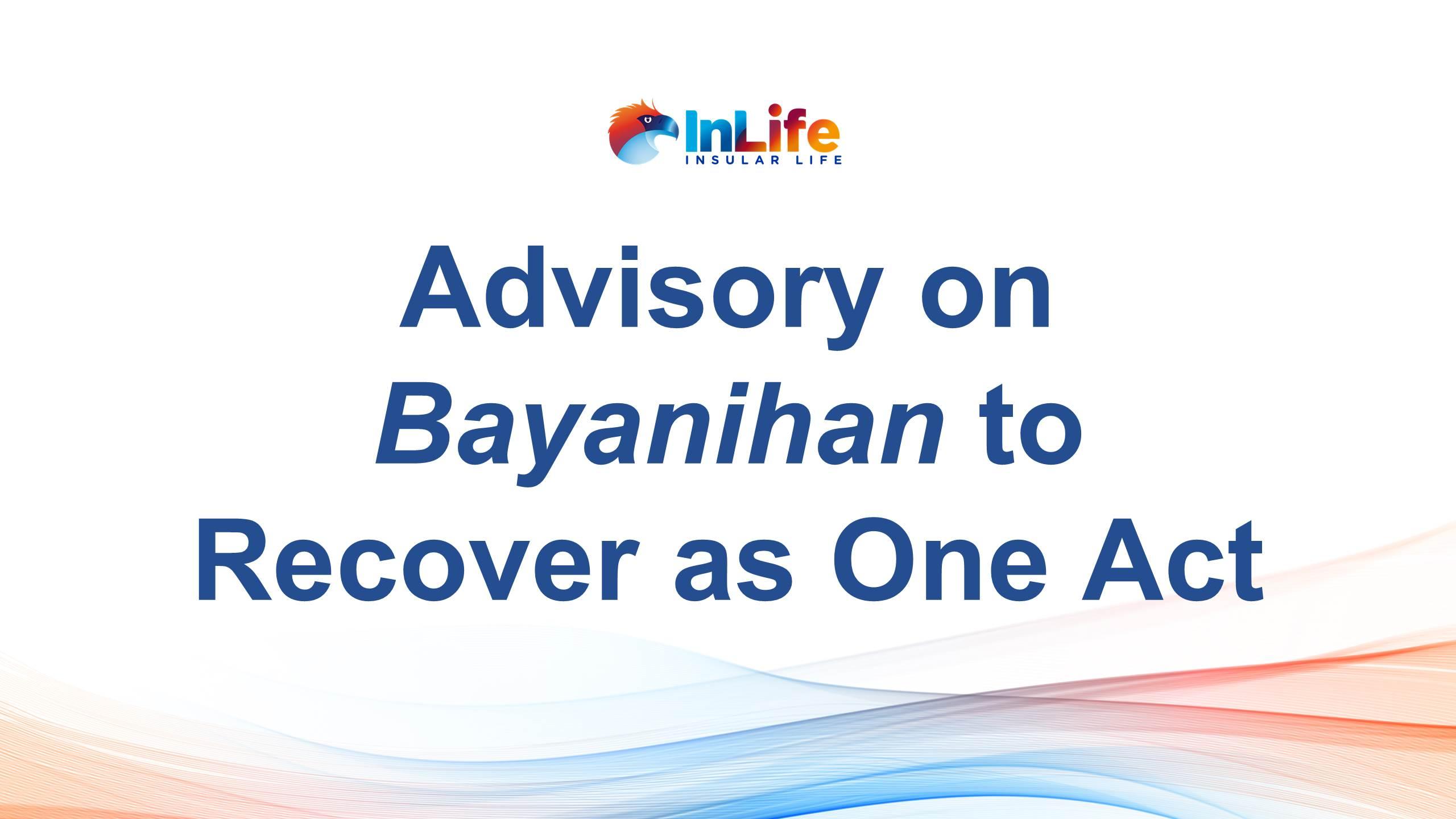 InLife Advisory on Bayanihan 2