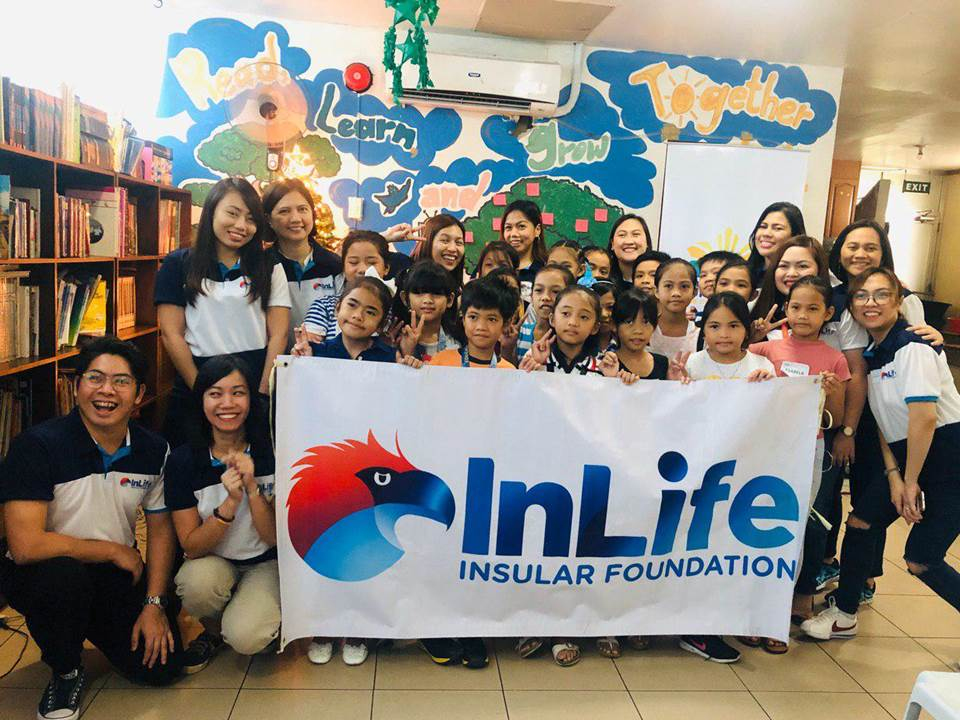 Insular Life Volunteers Share Blessings to 15 Charitable Institutions
