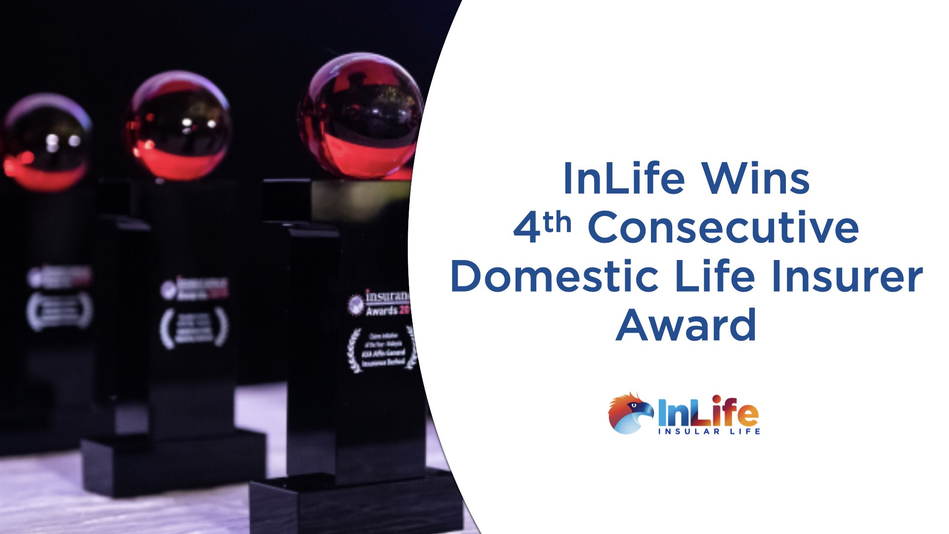 InLife wins 4th consecutive Domestic Life Insurer Award from Insurance Asia Awards